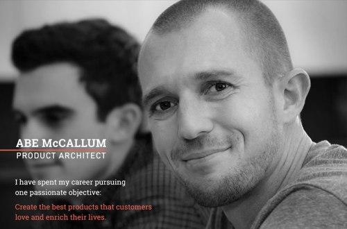 Abe McCallum - homepage hero